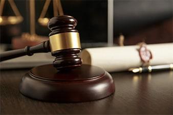 judge's gavel - Harrison Estate Law, P.A.