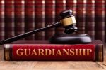 Judge Gavel on a guardianship book